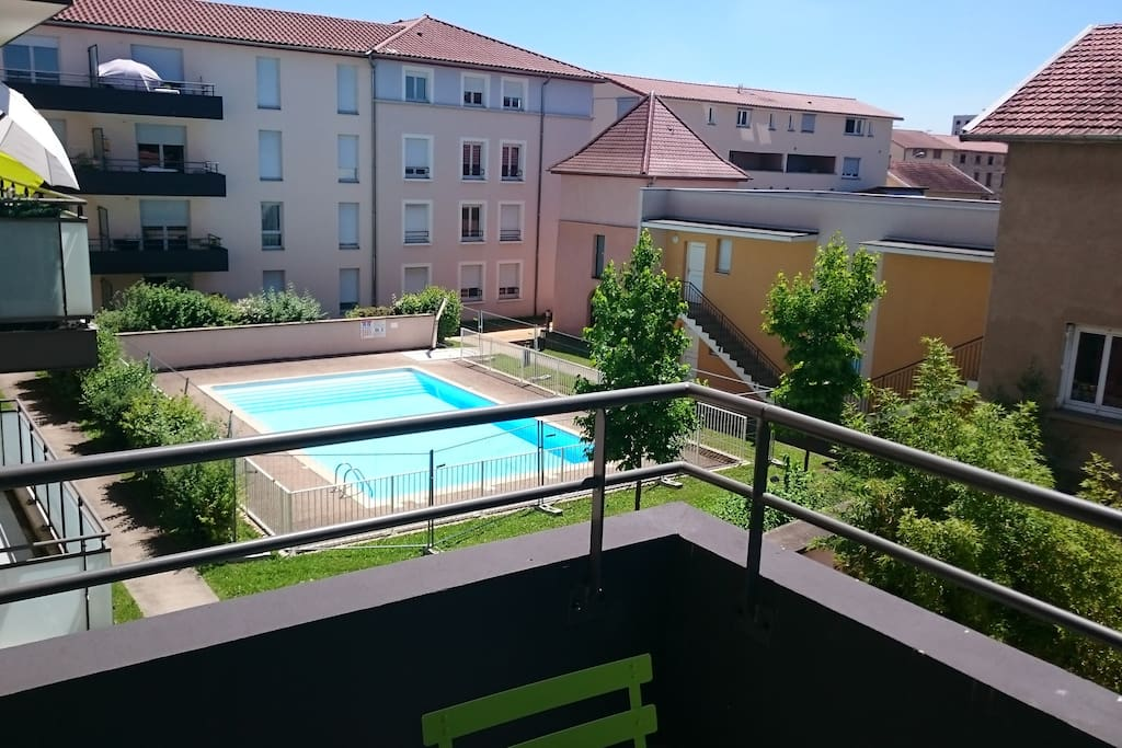 Appartement dans r sidence avec piscine apartments for for Piscine villefranche