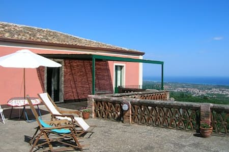 Casa in campagna molto panoramica - Piedimonte Etneo - Rumah