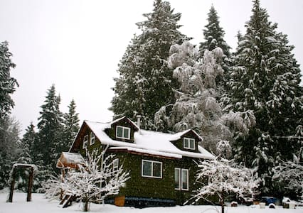 Heron's Nest Cottage--Walk to town! - Salt Spring Island - Bed & Breakfast
