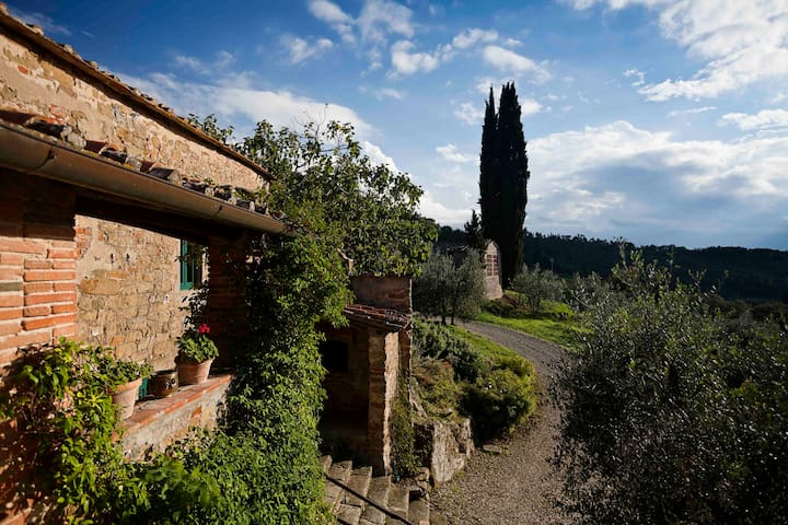Villa Rosmarino - house with pool - Greve In Chianti - บ้าน