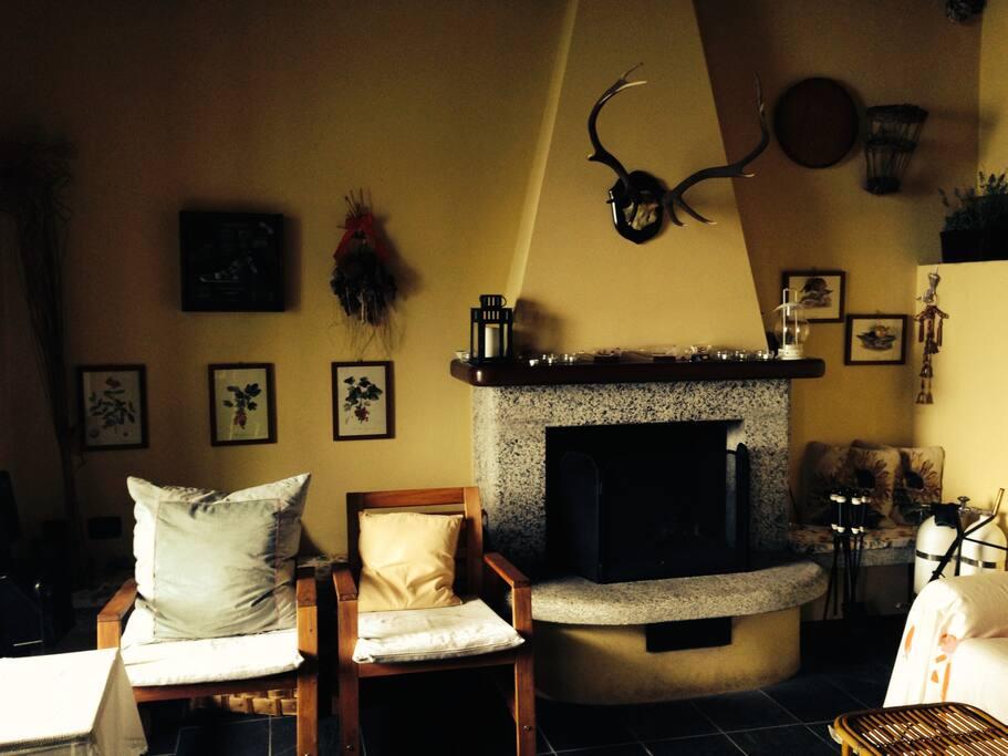 Camino, Fireplace