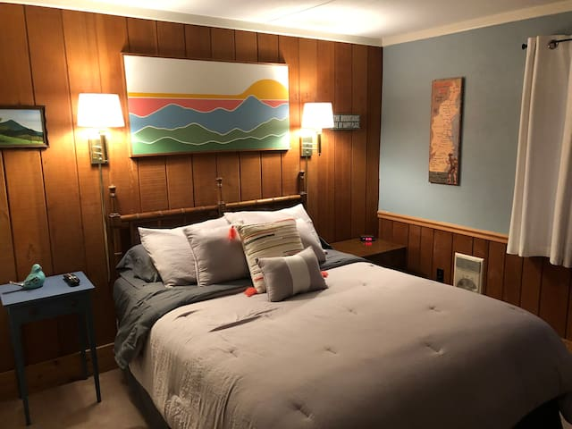 Bedroom Two, the Sunset Room.