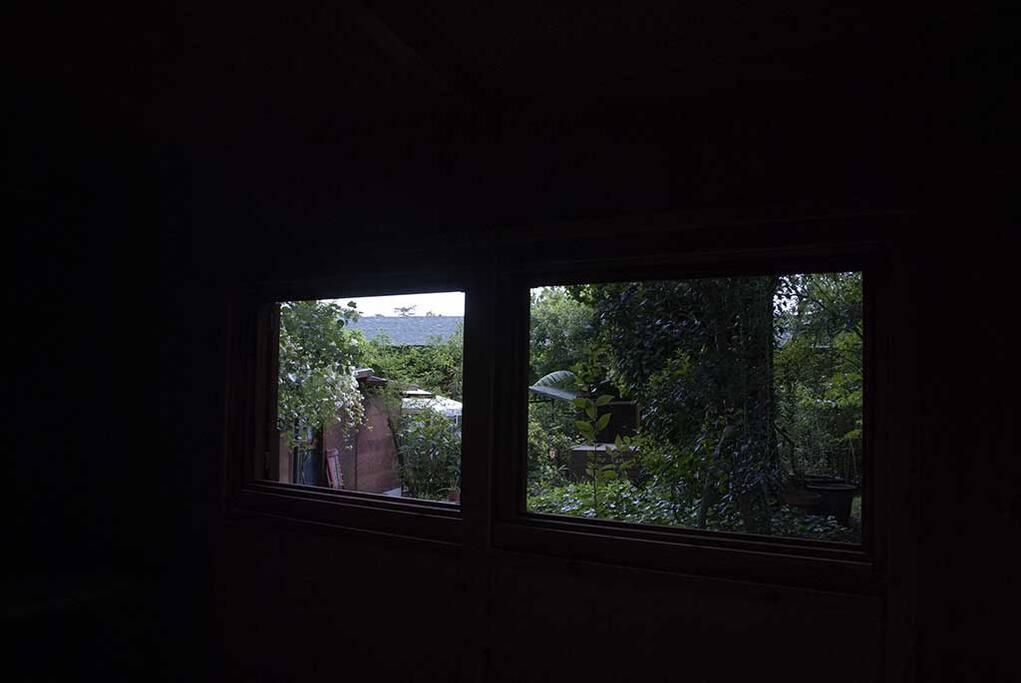 Uno scorcio del giardino, visto dalla vostra finestra