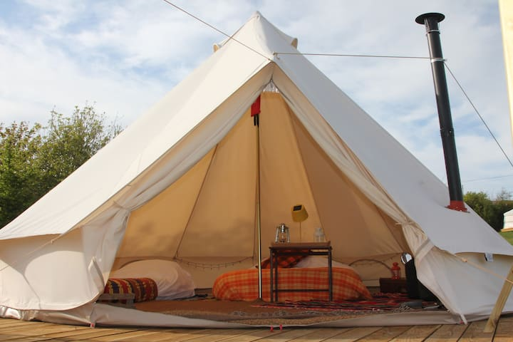 Luxury Bell Tents at Koa Tree Camp - Biddeford - Σκηνή