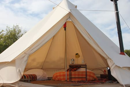 Luxury Bell Tents at Koa Tree Camp - Biddeford