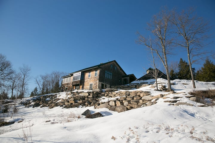 Luxury Estate on top of 200 Acre Private Mountain