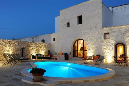 Citrignano farmhouse with pool