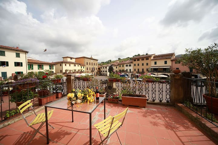 Sunny Apt.in the heart of Chianti ! - Greve In Chianti - Departamento