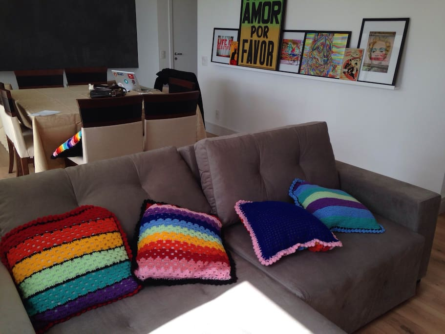 This is the sofa for watching TV, Apple TV and Netflix.