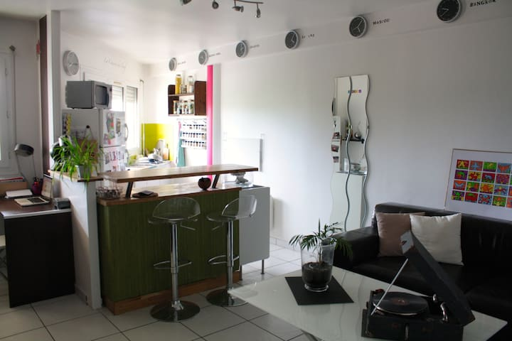 Studio to 25min from Paris - Brétigny-sur-Orge - Apartmen
