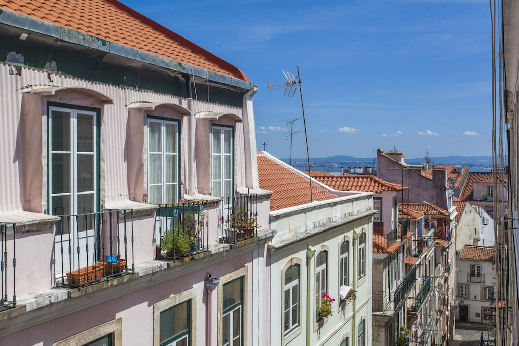 Rua dos Mouros - view from the living-room