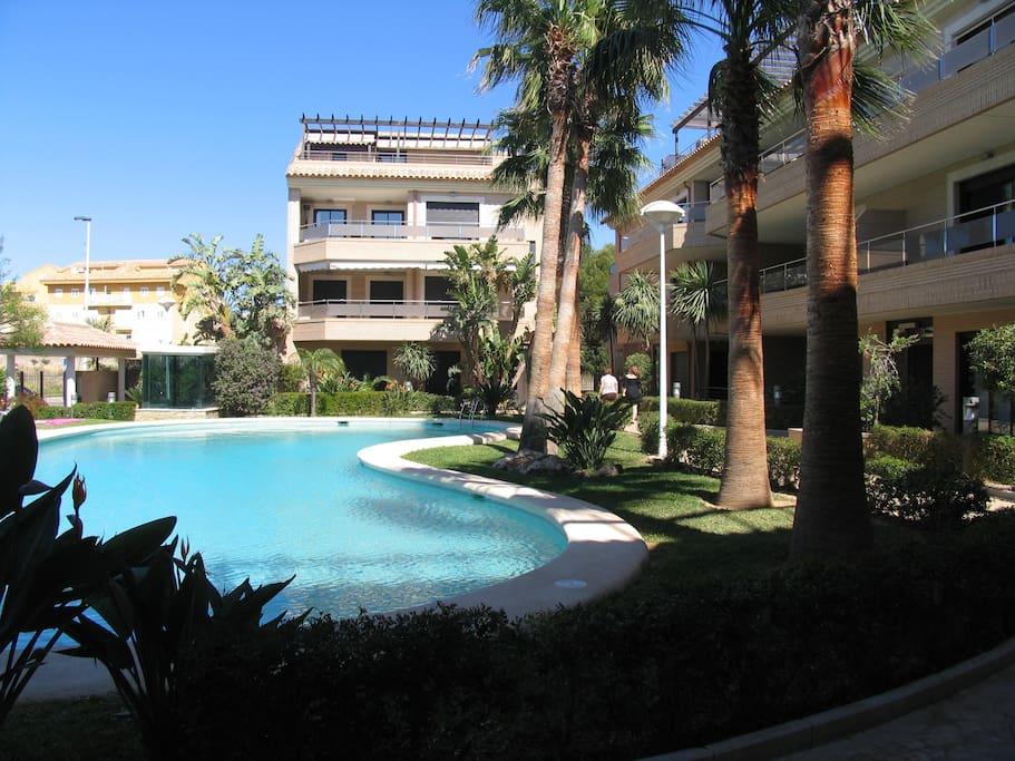 piscina urbanización