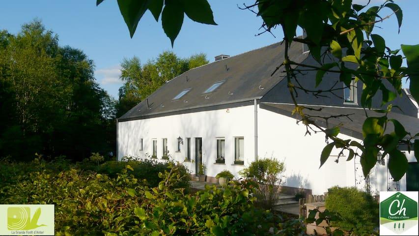 Cottage Lavande et Bruyères - Chambre Lavande