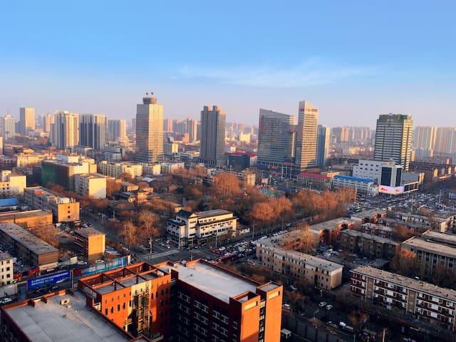 石家庄 市中心整套2室2厅公寓 可住4人,走路五分钟到南三条 乐汇城 - 石家庄 - Appartamento