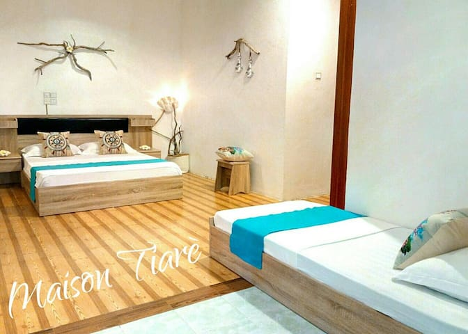 Maison Tiare' Family room - Thulusdhoo - Bed & Breakfast
