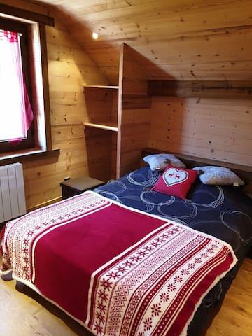 Chambre à la montagne pour amoureux de la nature