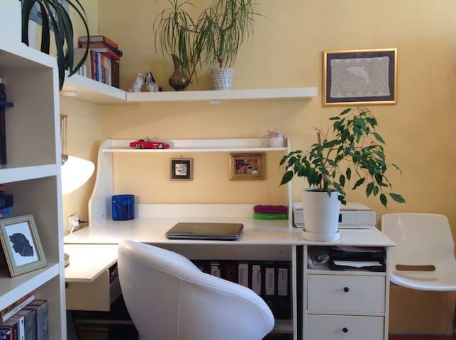 room in a quiet area