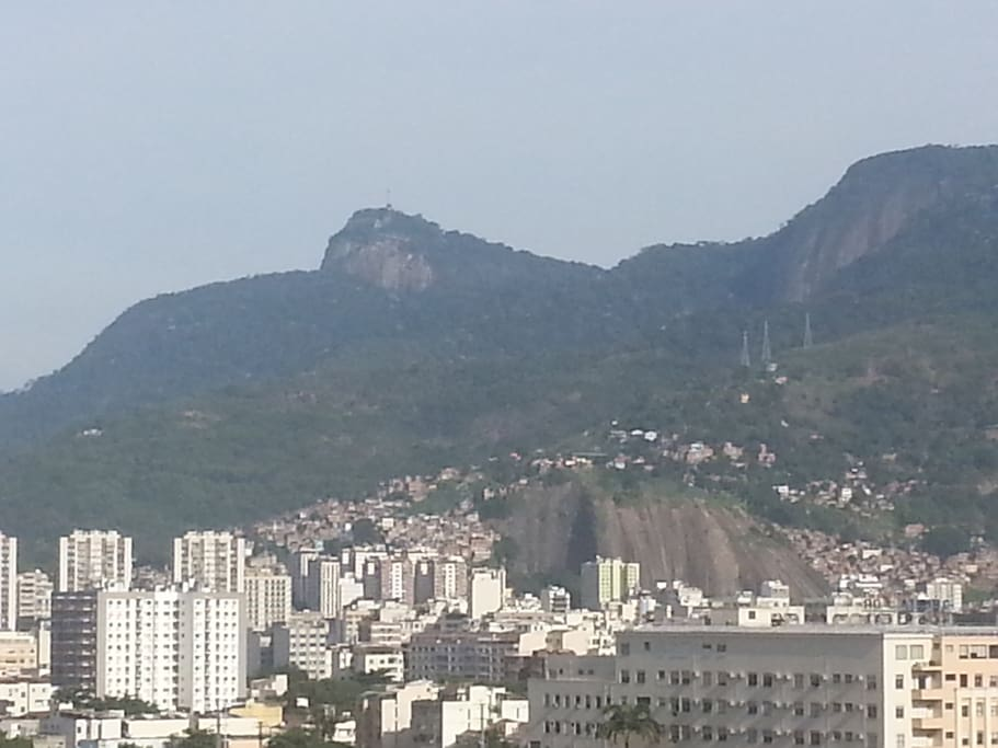 Side view of the suite to the Corcovado (the Christ statue).