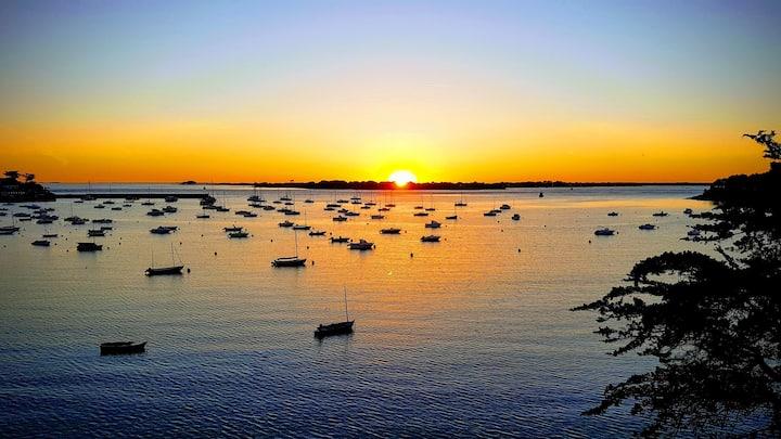 Vue exceptionnelle, Golfe du Morbihan, classé 4*