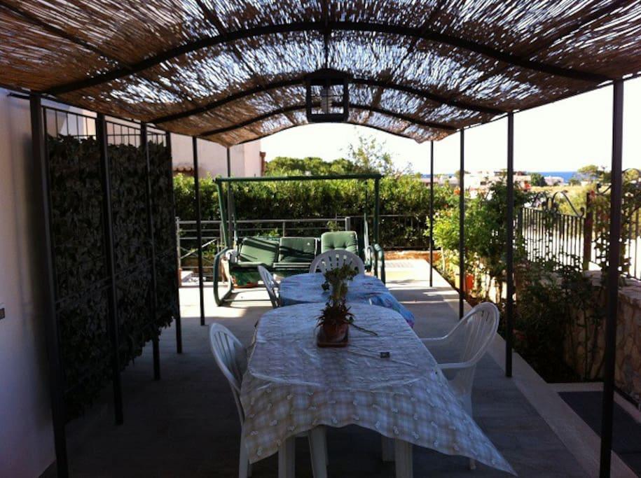 Casa vacanza azzurra piano primo case in affitto a san - Piano casa sicilia ...