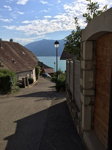 Amazing flat with a view of the Lac d'Annecy - Veyrier-du-Lac - Apartment