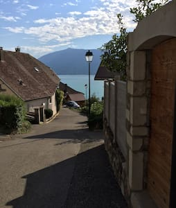 Amazing flat with a view of the Lac d'Annecy - Daire