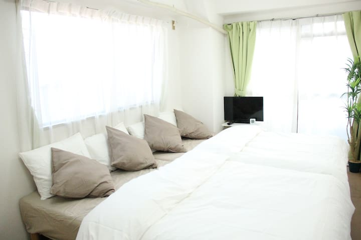 IKEBUKURO 2M /INEXPENSIVE /CLEAN /FREE POCKET=WIFI - Toshima-ku - Apartment