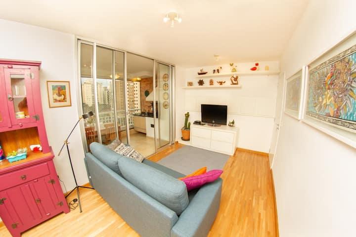 OBA 29 - Apartamento Confortável – Allianz Parque