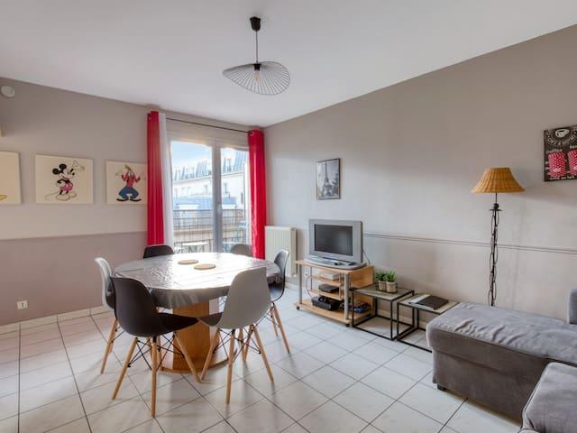 Cosy apartment with balcony in Chessy, 5 min to Disneyland Paris - Welkeys