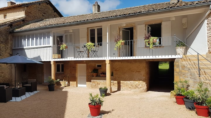 Beautiful house in Burgundy - Chaintré - 4 People
