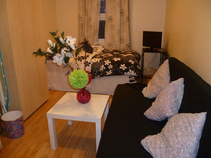 LONDON AESOP' STUDIO, SLEEPS 2-4, CLOSE TO CITY.