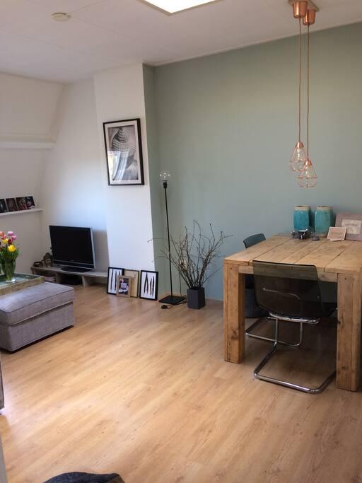 warm and cosy livingroom