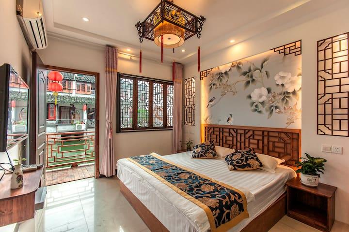 古镇西塘临河民宿2个房间 - Jiaxing - Huis