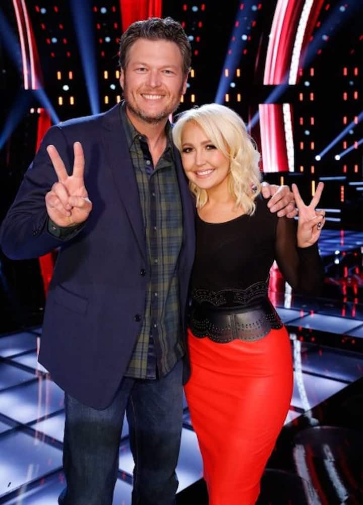 Meghan Linsey on NBC's the Voice!