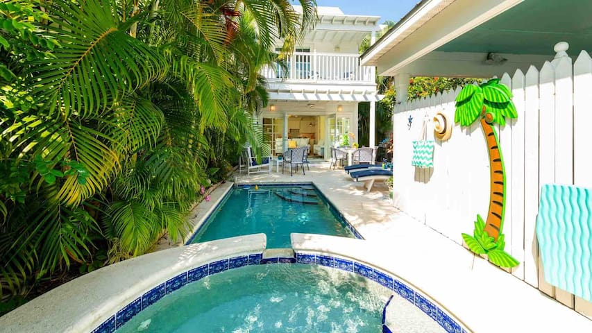 **BACK TO THE ISLAND @ THE ANNEX** Elegant Villa + Pool/Jacuzzi + LAST KEY SERVICES…