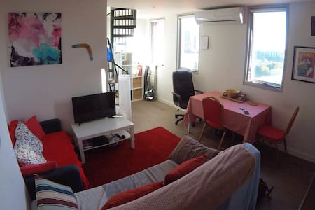 Cozy and clean private room in the heart of CBD - West Melbourne - Wohnung