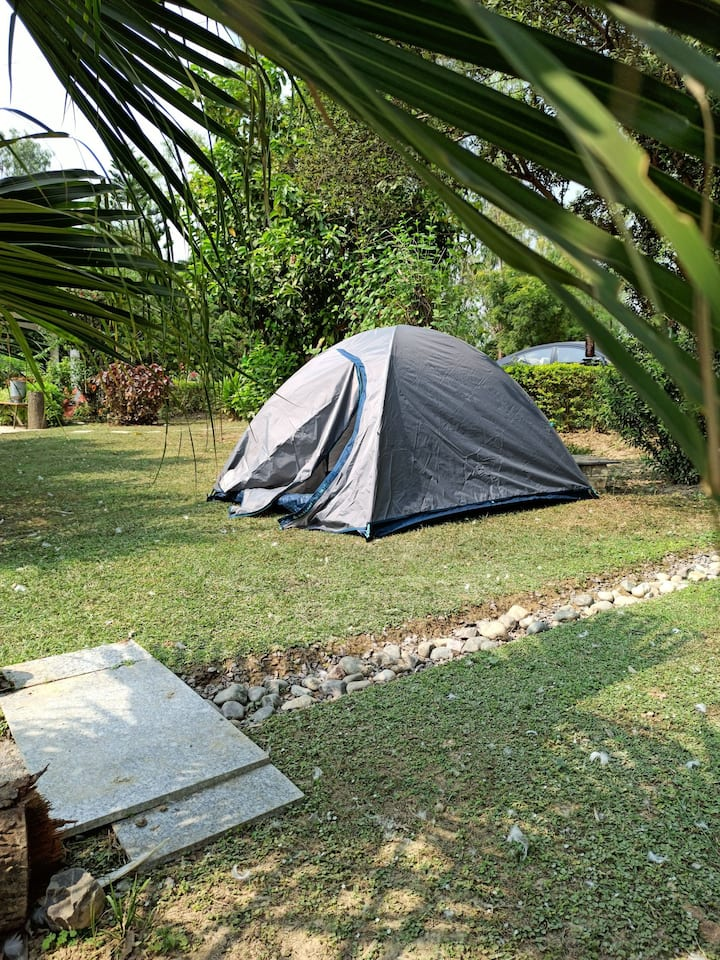 Lucknow's First Campsite at Nature's Abode
