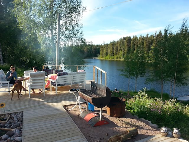Lake & Forest at your doorstep (Hungry Bear Apt) - Rättvik S - Byt