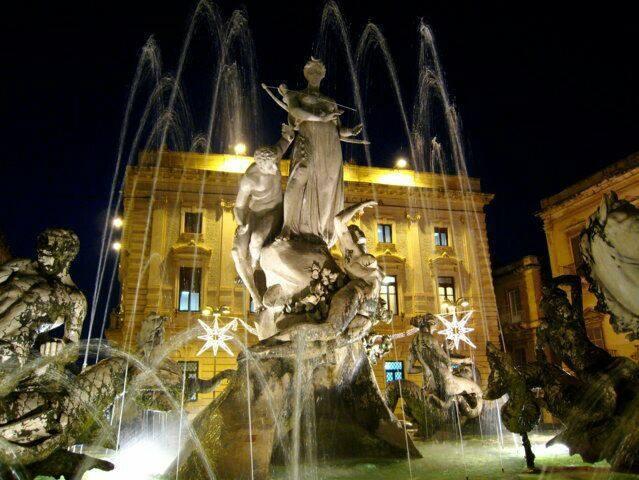 Ortigia, Fontana di Diana