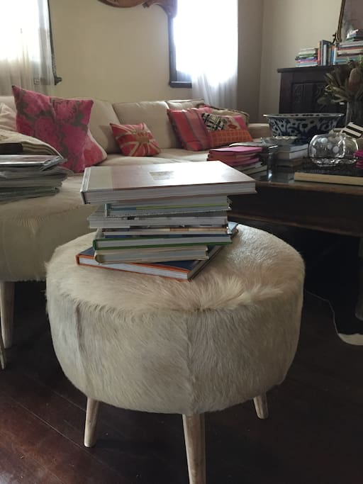 Lounge Room library