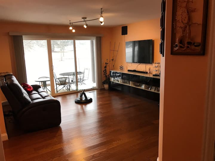 Cozy, remodeled, first floor warm condo