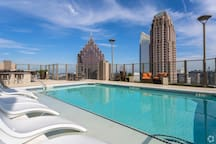 Rooftop terrace views