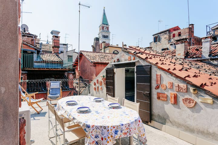VIEW ON SANMARCO, 2 MINUTES FROM  PIAZZA SANMARCO - Venezia - Apartment