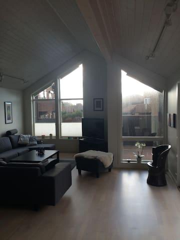 Stort moderne hus med terrasse - Klepp - Ev