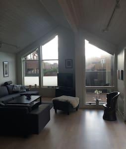 Stort moderne hus med terrasse - Klepp - Dom