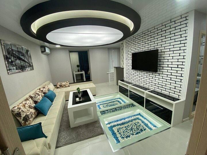 Luxury and hi tech flat