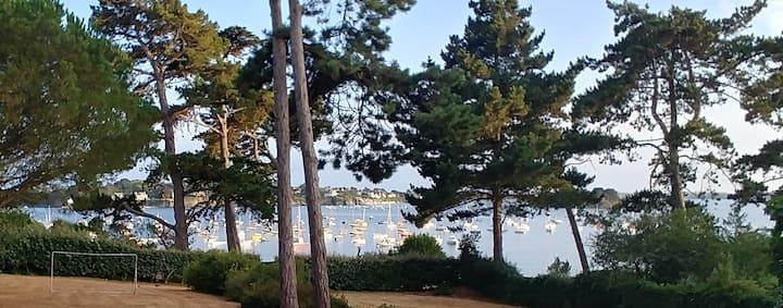 Saint Briac, vue mer, accès direct plage, expo sud