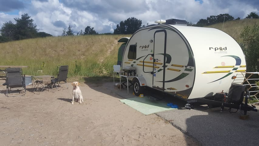 Awesome Set-up! 2012 R-Pod 176T Camping Experience - Grand Haven - Camper/RV