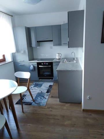 Apartament/studio blisko jeziora dla 2 osób