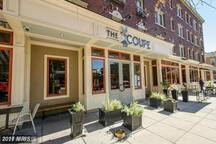 The Coupe is 6 mins walk. There are more than a dozen awesome dining spots around 11st area